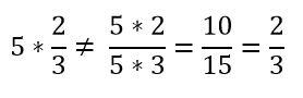 Contraejemplo multiplicación