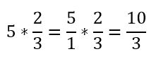 Multiplicación por un entero