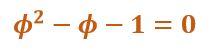 Fórmula para phi